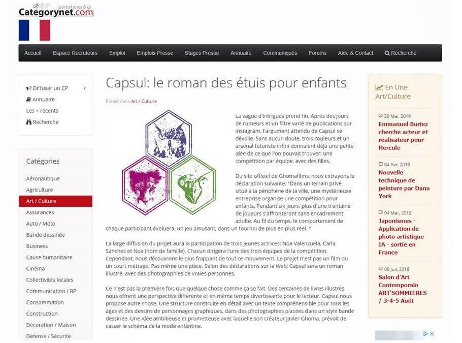 El proyecto Capsul en Francia